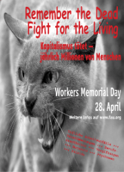 """""""Remember the Dead – Fight for the Living!"""""""